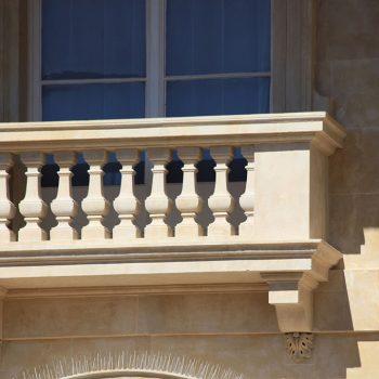 Balustrade-in-Caen-Stone