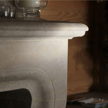 Baronial-Stone-Fireplace-in-Antiqued-Massangis-Jaunne-French-Limestone-(4)