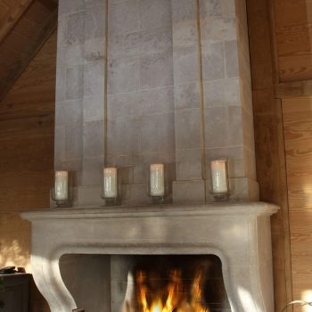 Baronial-Stone-Fireplace-in-Antiqued-Massangis-Jaunne-French-Limestone-(3)