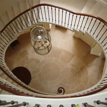 Cantilever-Staircase-in-French-Limestone