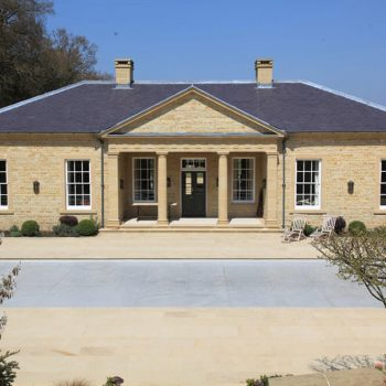 Private-Country-House---Pool-House,-Sussex-in-Blaxter-Stone