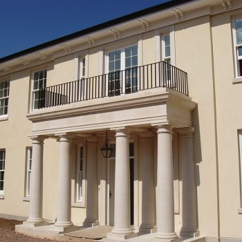 Private-Residence-Ascot-Rendered-Facade-with-Portland-Stone-Dressings