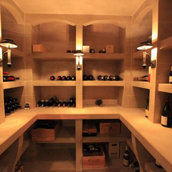 rivate-Residence,-Stone-Wine-Cellar-with-Cabinets