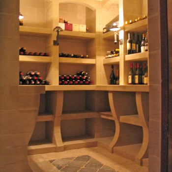 Private-Residence,-Wine-Cellar-with-Reclaimed-Stone-Floor
