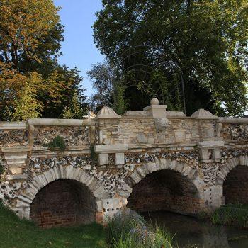 Rustic-Bridge-with-Portland-Stone-addtions