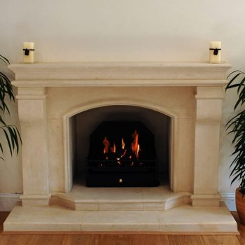 Stone-Fireplace-in-Richemont-Cream-French-Limestone